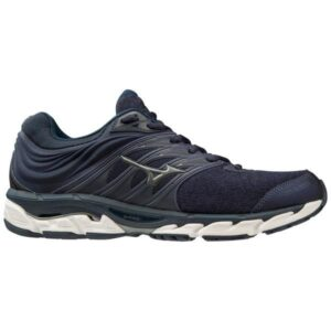 Mizuno Wave Paradox 5 - Mens Running Shoes - Medieval Blue/Metallic Shadow