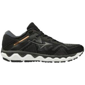 Mizuno Wave Horizon 4 - Mens Running Shoes - Black/Dark Shadow