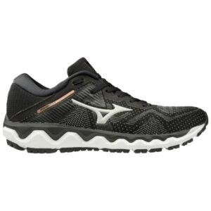Mizuno Wave Horizon 4 - Womens Running Shoes - Black/Grey/Champagne