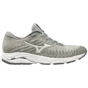 Mizuno Wave Inspire 16 Waveknit - Mens Running Shoes - High-Rise/Glacier Grey