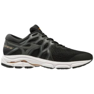 Mizuno Wave Equate 4 - Mens Running Shoes - Black/Dark Shadow