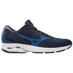 Mizuno Wave Rider Waveknit 3 - Mens Running Shoes - True Blue/Skydiver/Navy Blazer