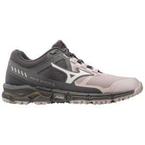 Mizuno Wave Daichi 5 - Womens Trail Running Shoes - Cloud Grey/Nimbus Cloud
