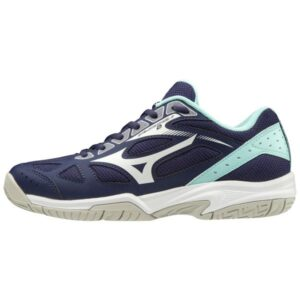 Mizuno Cyclone Speed 2 - Kids Netball Shoes - Astral Aura/White/Blue Light