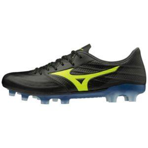 Mizuno Rebula 3 Elite - Mens Football Boots - Black/Safety Yellow