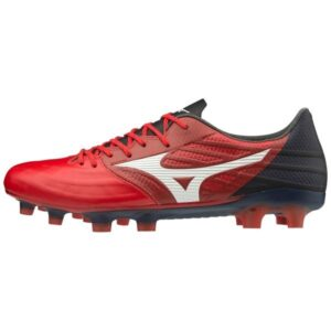 Mizuno Rebula 3 Elite - Mens Football Boots - High Risk Red/White/Black