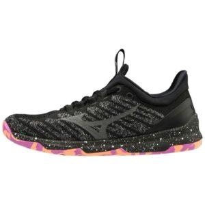 Mizuno TC-01 - Womens Training Shoes - Black/Pink Marble