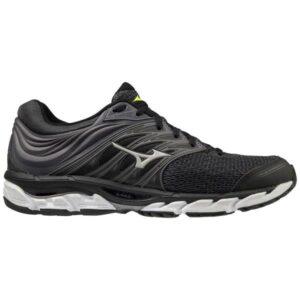 Mizuno Wave Paradox 5 - Mens Running Shoes - Magnet/Safety Yellow