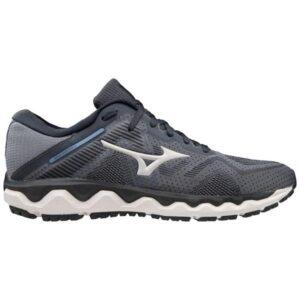 Mizuno Wave Horizon 4 - Mens Running Shoes - Castlerock/Moonlight Blue