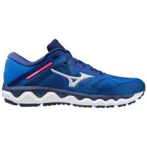 Mizuno Wave Horizon 4 - Mens Running Shoes - Prince Blue/Nimbus Cloud