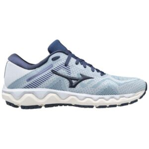 Mizuno Wave Horizon 4 - Womens Running Shoes - Arctic Ice/Mood Indigo