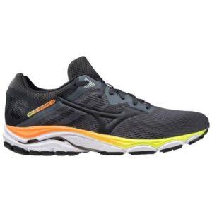 Mizuno Wave Inspire 16 - Mens Running Shoes - Castlerock/Shocking Orange