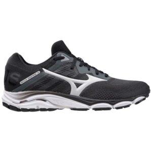 Mizuno Wave Inspire 16 - Mens Running Shoes - Dark Shadow/Nimbus Cloud/Black