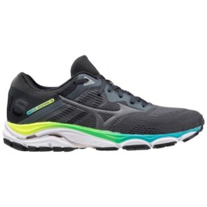 Mizuno Wave Inspire 16 - Womens Running Shoes - Castlerock/Scuba Blue