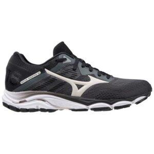 Mizuno Wave Inspire 16 - Womens Running Shoes - Dark Shadow/Nimbus Cloud/Black
