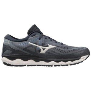 Mizuno Wave Sky 4 - Mens Running Shoes - Castlerock/Moonlight Blue