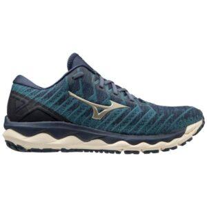 Mizuno Wave Sky 4 Waveknit - Mens Running Shoes - Hydro/Bronzeen