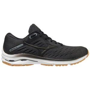 Mizuno Wave Rider 24 - Womens Running Shoes - Dark Shadow/Black/Biscuit
