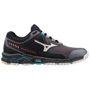 Mizuno Wave Daichi 5 - Womens Trail Running Shoes - Magnet/Scuba Blue
