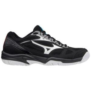 Mizuno Cyclone Speed 2 - Kids Tennis Shoes - Black/White
