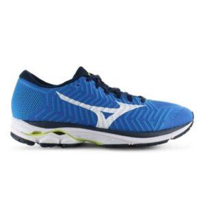 Mizuno WaveKnit Rider R1 - Mens Running Shoes - Brilliant Blue