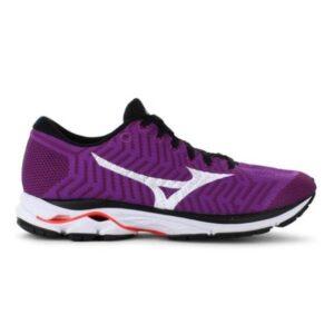 Mizuno WaveKnit Rider R1 - Womens Running Shoes - Hyacinth Violet/White