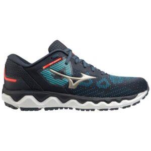 Mizuno Wave Horizon 5 - Mens Running Shoes - India Ink/Platinum Gold
