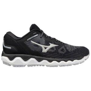 Mizuno Wave Horizon 5 - Womens Running Shoes - Black/Lunar Rock