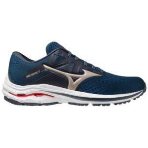 Mizuno Wave Inspire 17 - Mens Running Shoes - India Ink/Platinum Gold