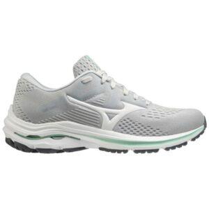 Mizuno Wave Inspire 17 - Womens Running Shoes - Harbor Mist/White