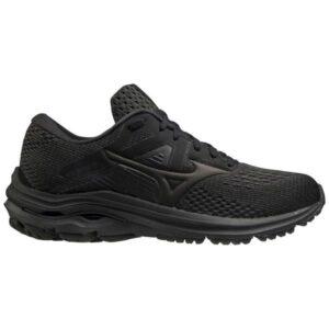 Mizuno Wave Inspire 17 - Womens Running Shoes - Triple Black