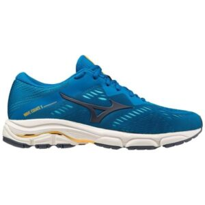 Mizuno Wave Equate 5 - Mens Running Shoes - Mykonos Blue/Ombre Blue