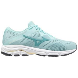 Mizuno Wave Equate 5 - Womens Running Shoes - Eggshell Blue/Dusty Turquoise