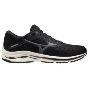 Mizuno Wave Rider 24 - Mens Running Shoes - Black/India Ink