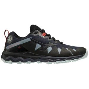 Mizuno Wave Daichi 6 - Mens Trail Running Shoes - India Ink/Black