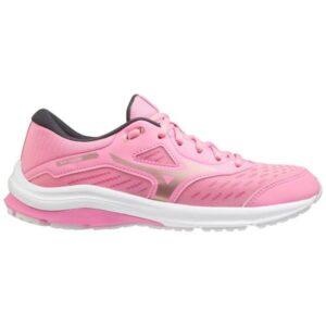 Mizuno Wave Rider 24 - Kids Running Shoes - Sachet Pink/Rose Gold