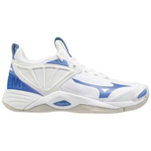 Mizuno Wave Momentum 2 - Womens Netball Shoes - White/Ultramarine