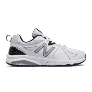 New Balance 857v2 - Mens Cross Training Shoes - White/Navy