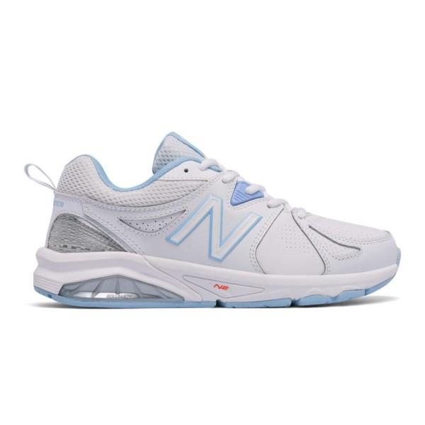 New Balance 857v2 - Womens Cross Training Shoes - White/Blue