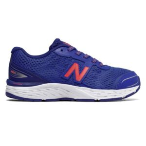 New Balance 680v5 - Kids Running Shoes - Pacific/Dynamite