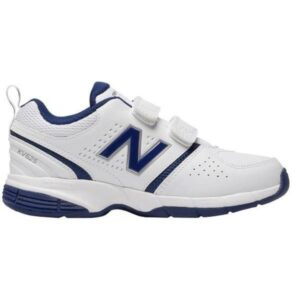 New Balance 625v2 Velcro - Kids Cross Training Shoes - White/Navy