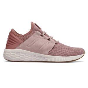 New Balance Fresh Foam Cruz v2 - Womens Sneakers - Conch Shell/White