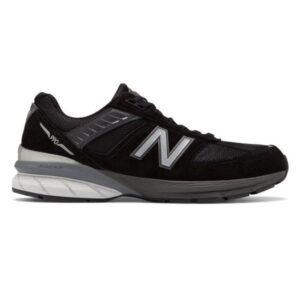 New Balance 990v5 - Mens Running Shoes - Black/Silver