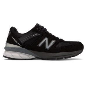 New Balance 990v5 - Womens Running Shoes - Black/Silver