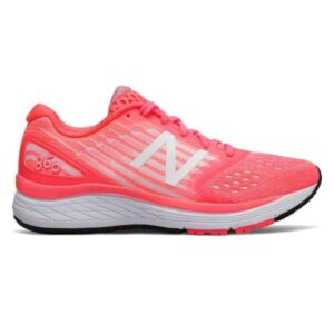 New Balance 860v9 - Kids Running Shoes - Guava/Sunrise Glo