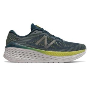 New Balance Fresh Foam More - Mens Running Shoes - Blue/Yellow/Silver