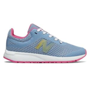 New Balance 455 v2 - Kids Running Shoes - Light Blue/Pink