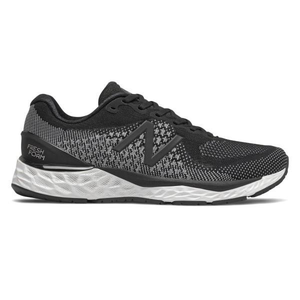 New Balance Fresh Foam 880v10 - Mens Running Shoes - Black/White