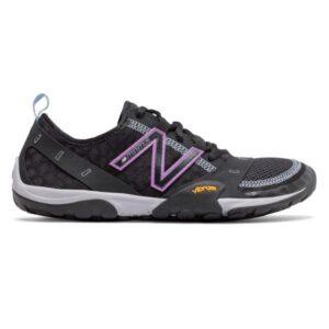 New Balance Minimus 10 - Womens Trail Running Shoes - Black/Neo Violet