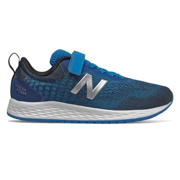 New Balance Fresh Foam Arishi v3 Velcro - Kids Running Shoes - Vision Blue/Natural Indigo/Mint